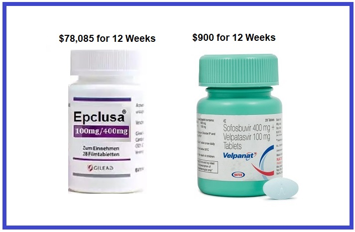 Epclusa cost in India