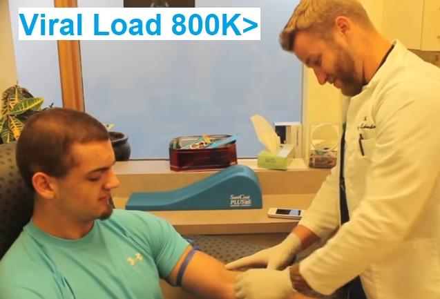 hep c viral load 800k