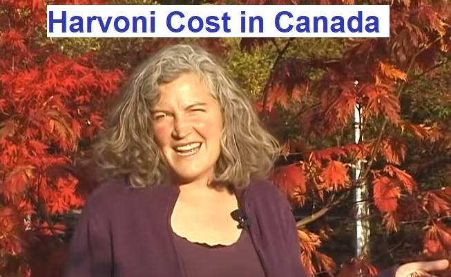 Harvoni cost in Canada