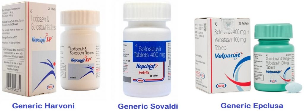 generic hepatitis C drugs